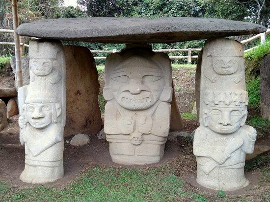 Dios De La Guerra Picture Of San Agustin Archaeological Park San