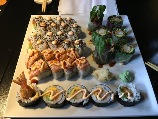 Frokost A La Carte All You Can Eat Sushi Picture Of Running Ping