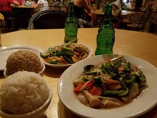Thai Palace: Good food