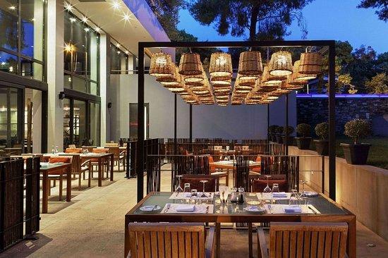 Ekali, Grèce : Restaurant