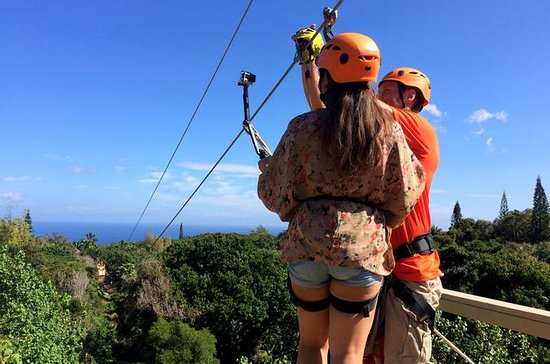 Maui Jungle Zipline Eco Adventure
