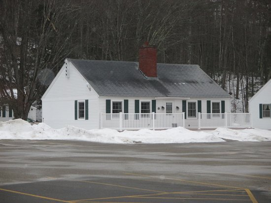 Intervale, Nueva Hampshire: Cabin with two separate rooms.