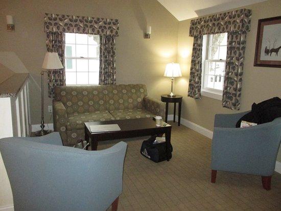 Intervale, Nueva Hampshire: Living area of room