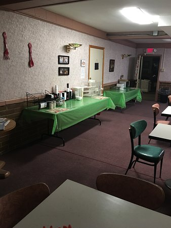 Lancaster, NH: Breakfast Room