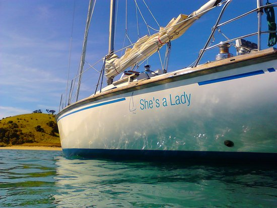 Bay of Islands, Selandia Baru: She's a Lady