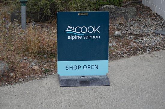 Twizel, Nova Zelândia: Signboard