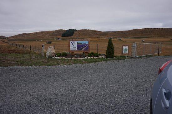 Mackenzie District, Neuseeland: Main entrance