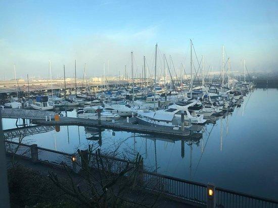 Everett, WA: View from 2nd story window