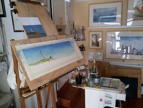 Watercolour Studio Artist Enrico Paciullo