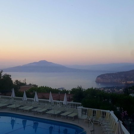 Hotel Iaccarino: Hotel sunset views