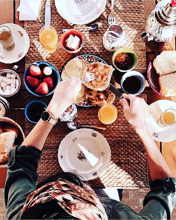 Riad Anata: Breakfast