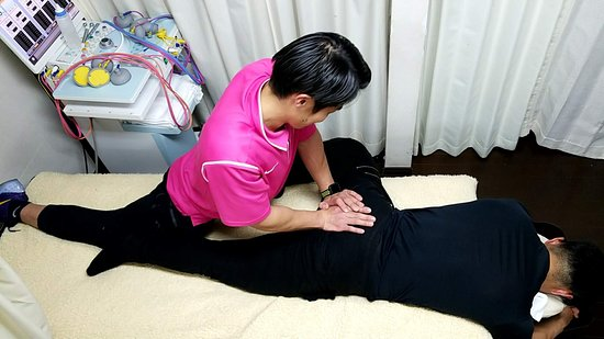 Medical Condition: hip massage for bodybuilder