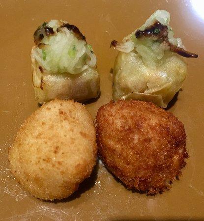 Las Tortillas de Gabino: Bocaditos y croquetas