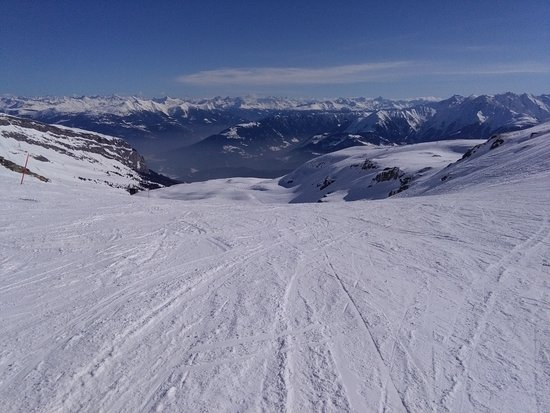 Vista verso Flims Picture of Flims Laax Falera Ski Resort Laax