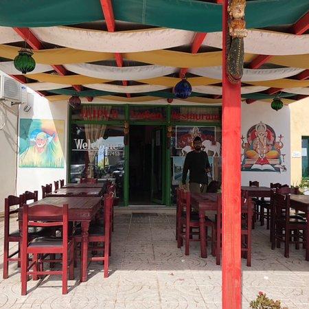 Jaipur Palace Santorini: Truly Indian ✌🏻