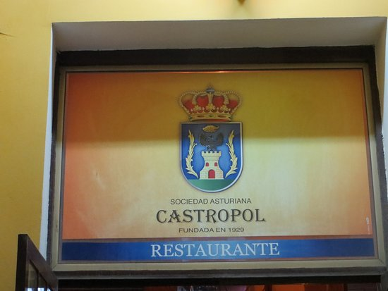 Sociedad Asturiana Castropol: Castropol Restaurante