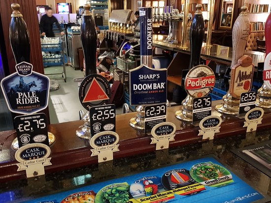 The Standing Order: Real ales at competitive prices
