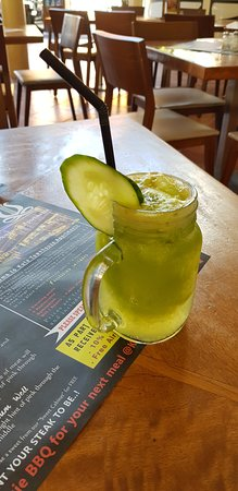 Bali Black Stump Restaurant: soft drink