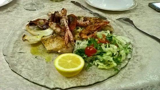 Davoli, Italy: grigliata
