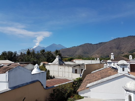 La Villa Serena: View from the roof terrace