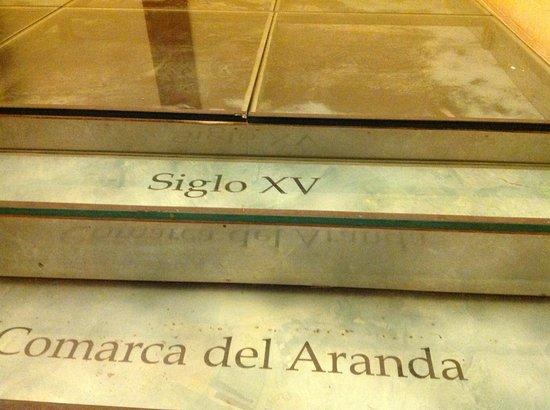 Hospederia Castillo Papa Luna : Steps inside the hotel