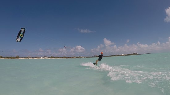 Rippin Long Bay Beach with Turks and Caicos Kiteboarding!