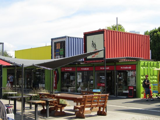 Cashel Street: Container Mall