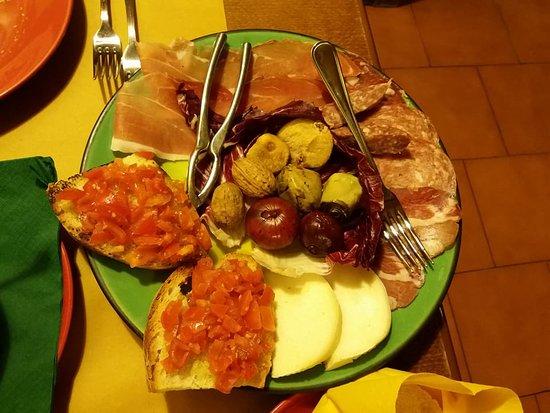 Osteria Ristorante San Vivaldo : antipasto misto