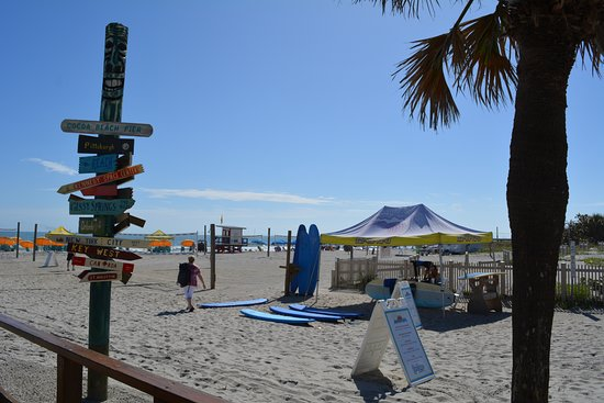Cocoa Beach Pier Photo Clique De Quai