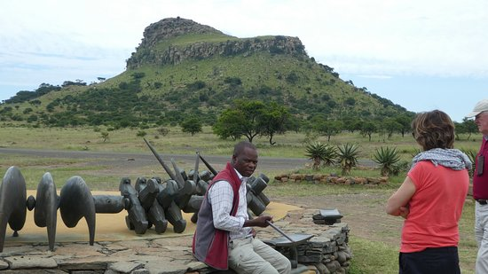 Isandlwana, South Africa: Dalton our guide