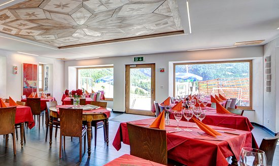 Simplon, Switzerland: Unser Speisesaal
