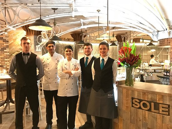 SOLE Seafood and Grill: The SOLE Team