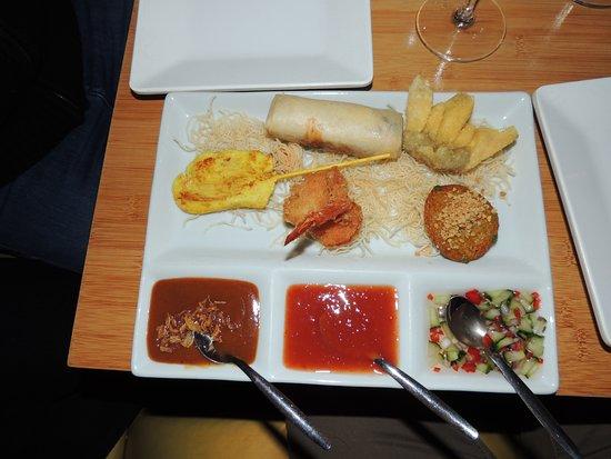 Kinnaree Thai Cuisine: assortiment thaï