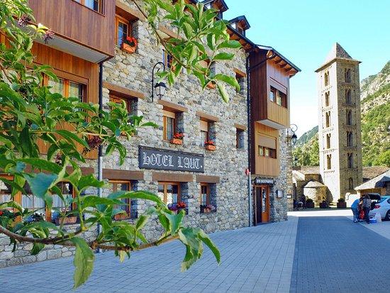Erill La Vall, España: edifici restaurant l ´Aüt