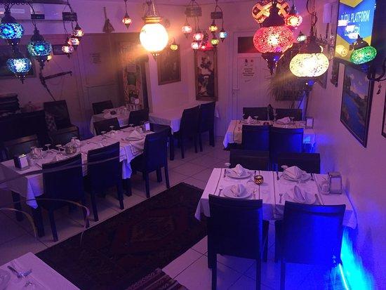 Kalem Restaurant : Restaurant inside- very nice