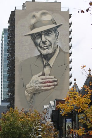Leonard Cohen Mural Montreal 2019 All You Need To Know Before