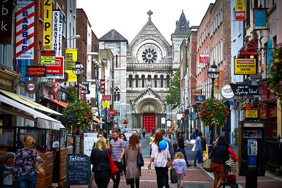 St. Anne's Church in Dublin city. Photo provided by Tourism Ireland