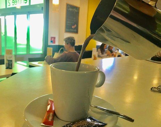Le Sarrasin Barentin: Chocolat chaud maison