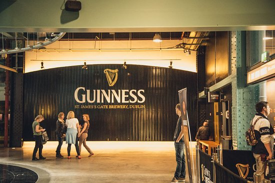 The Guinness Storehouse. Photo provided by Tourism Ireland