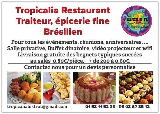 Tropicalia Traiteur Beignets Typiques Bresiliens Sucrees Et