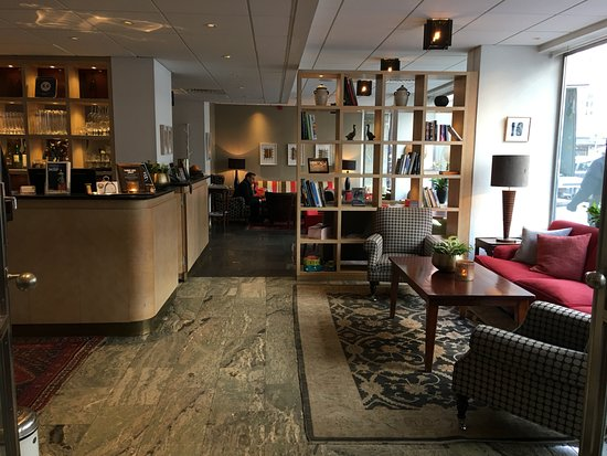 Clarion Collection Hotel Wellington : 1樓大廳