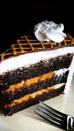 Ogdensburg, NY: Triple Chocolate Caramel Cake