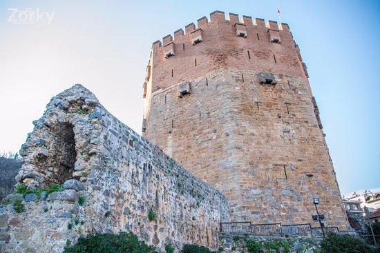 Alanya Kalesi (Castle): Крепость Клеопатры