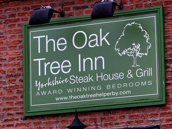 Helperby, UK: The pub sign