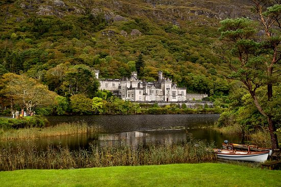 Kylemore Abbey in County Galway. Photo provided by Tourism Ireland