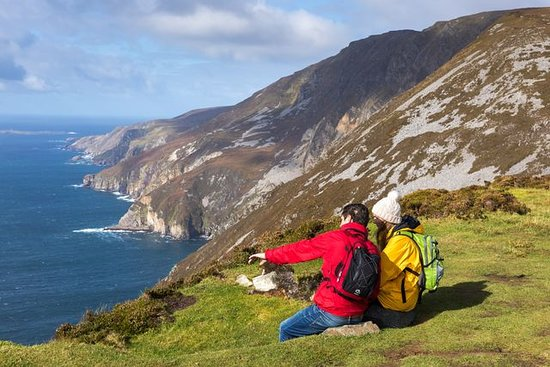 Slieve League in County Donegal. Photo provided by Tourism Ireland