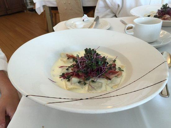 Notre-Dame-du-Portage, Kanada: The best raviolis I've ever had