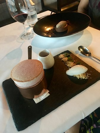 Flying Fish Restaurant & Bar: Cherry Souffle