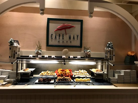 Cape May Cafe: Buffet