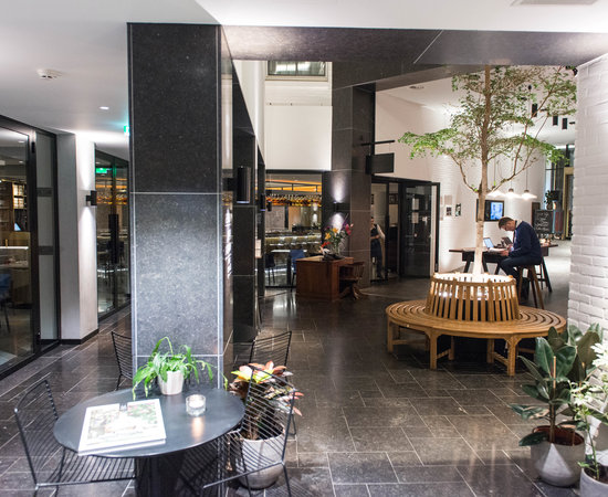 Lobby at the INK Hotel Amsterdam - MGallery by Sofitel